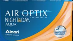 AIR OPTIX® NIGHT & DAY® AQUA monthly contact lenses